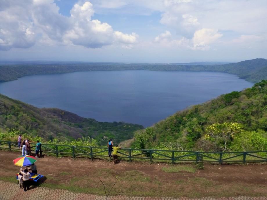 Photo of Apoyo Lake in Granada, Nicaragua