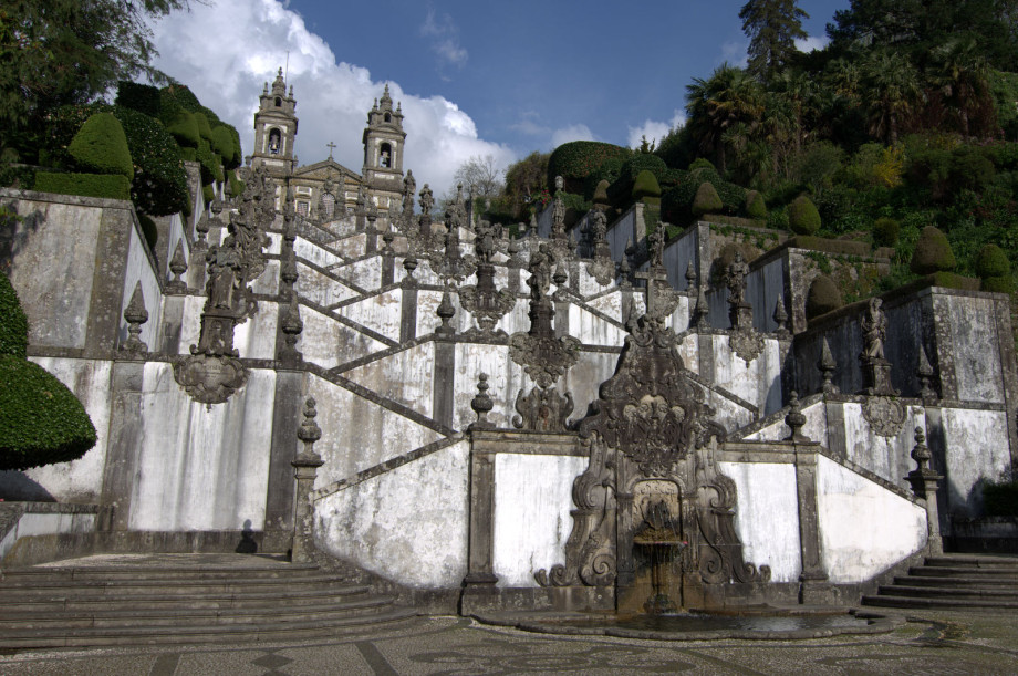 Photo of Bom Jesus in Braga, Portugal