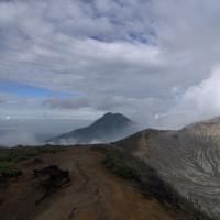 Mount Ijen in Banyuwangi, Indonesia