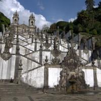 Bom Jesus in Braga, Portugal