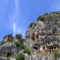 Ruins in Kas, Turkey